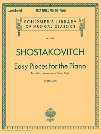 Product Cover for Easy Pieces for the Piano (including 2 Pieces for Piano Duet)