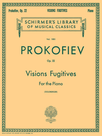 Product Cover for Visions Fugitives, Op. 22