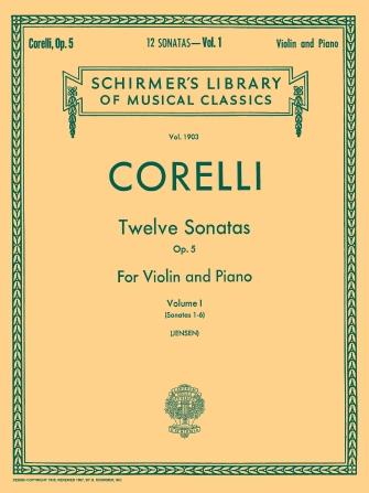 Product Cover for Twelve Sonatas, Op. 5 – Volume 1