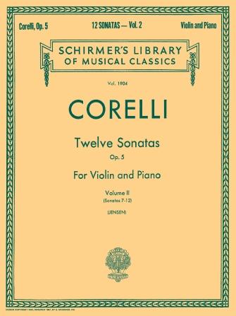Product Cover for Twelve Sonatas, Op. 5 – Volume 2
