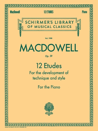 Product Cover for 12 Etudes for the Development of Technique and Style, Op. 39