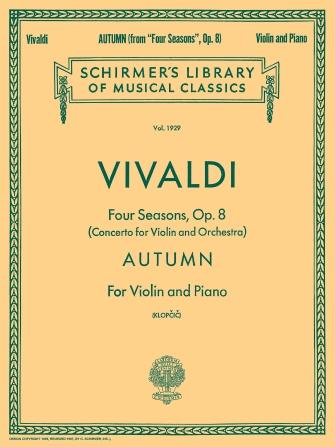 Schirmer Library of Classics Volume 1929