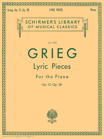 Product Cover for Lyric Pieces – Volume 1: Op. 12, 38