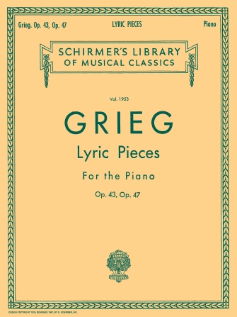 Product Cover for Lyric Pieces – Volume 2: Op. 43, 47