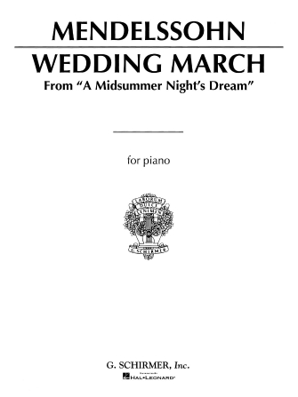 Product Cover for Wedding March (Mendelssohn) – Piano Solo