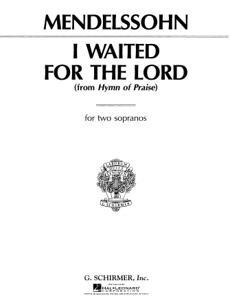 Product Cover for I Waited for the Lord (from Hymn of Praise)