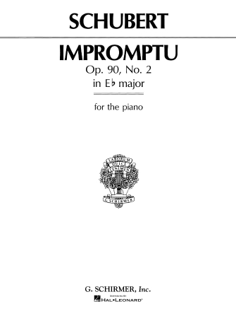 Product Cover for Impromptu, Op. 90, No. 2 in Eb Major
