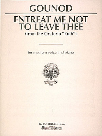 Product Cover for Entreat Me Not to Leave Thee (Song of Ruth)