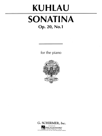 Product Cover for Sonatina, Op. 20, No. 1 in C Major