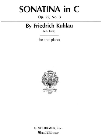 Product Cover for Sonatina, Op. 55, No. 3 in C Major