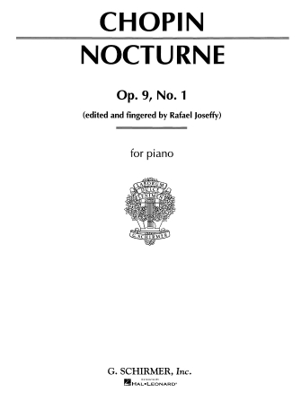Product Cover for Nocturne, Op. 9, No. 1 in B-flat minor