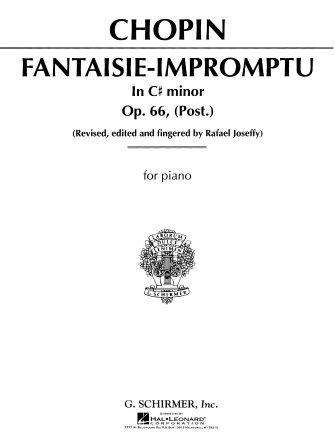 Product Cover for Fantasie Impromptu, Op. 66 in C# Minor