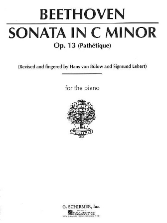"""Product Cover for Sonata in C Minor, Op. 13 (""""Pathetique"""")"""