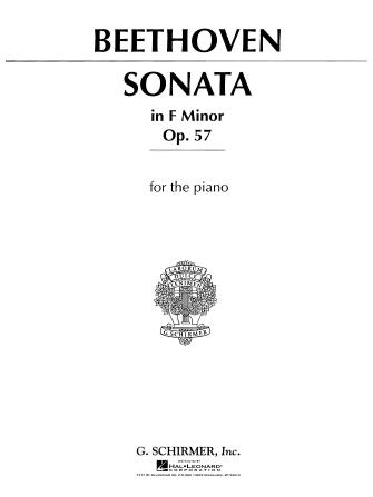 """Product Cover for Sonata in F Minor, Op. 57 (""""Appassionata"""")"""