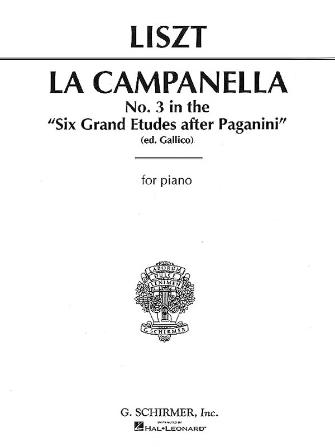 Product Cover for La Campanella (No. 3 in 6 Grand Etudes after N. Paganini)