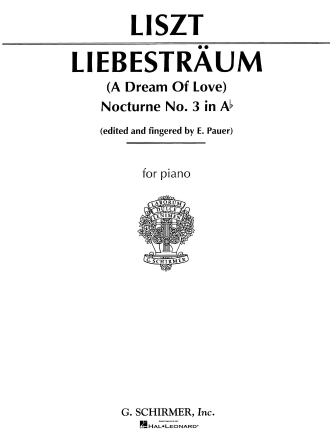 Product Cover for Liebestraume No. 3 in A Flat Major