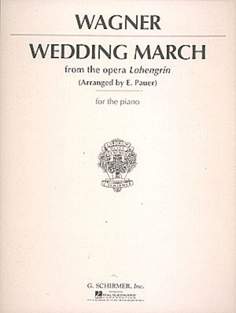 Product Cover for Wedding March (Wagner) – Piano Solo