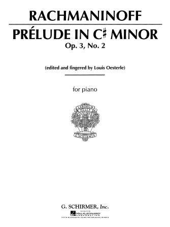Product Cover for Prelude in C# Minor, Op. 3, No. 2