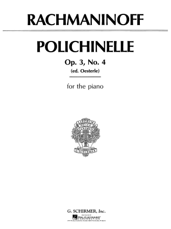 Product Cover for Polichinelle, Op. 3, No. 4