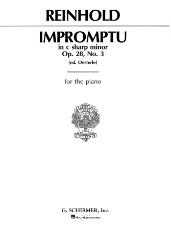 Product Cover for Impromptu, Op. 28, No. 3 in C#