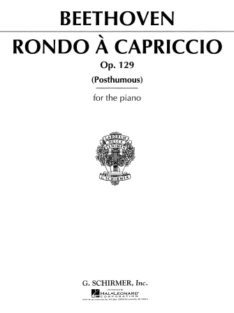 Product Cover for Rondo a Capriccio, Op. 129