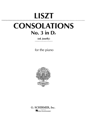 Product Cover for Consolation No. 3 in Db Major