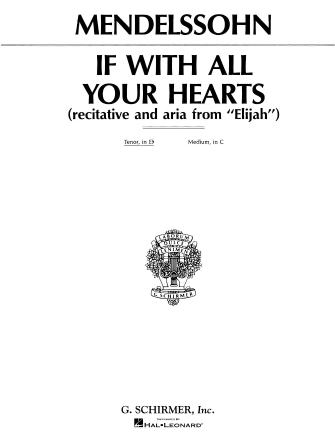 Product Cover for If With All Your Hearts (from Elijah)