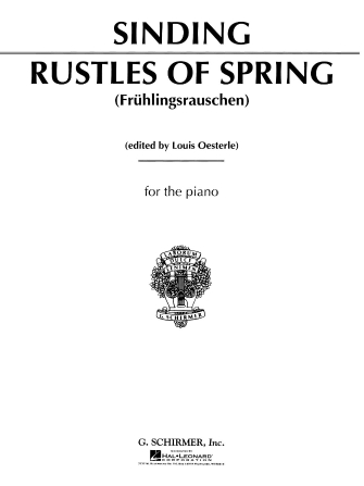 Product Cover for Rustles of Spring, Op. 32, No. 3 (Frühlingsrauschen)
