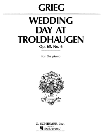 Product Cover for Wedding Day at Troldhaugen