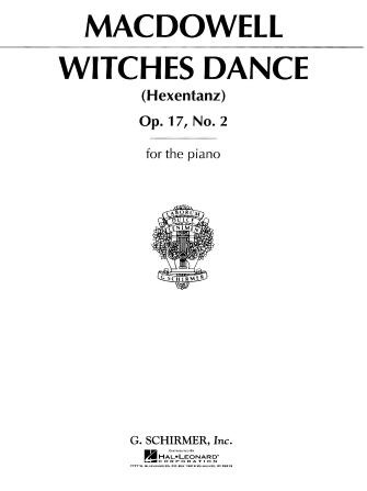 Product Cover for Witches' Dance, Op. 17, No. 2
