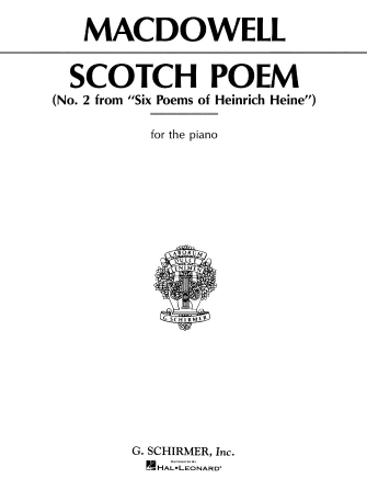 Product Cover for Scotch Poem, Op. 31, No. 2