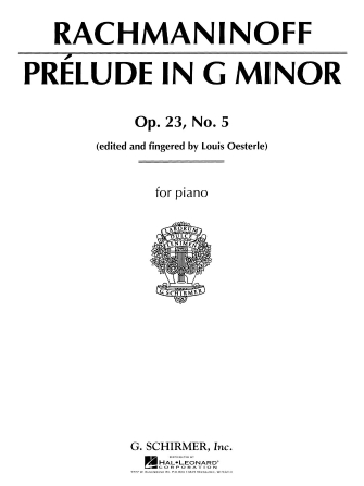 Product Cover for Prelude in G Minor, Op. 23, No. 5