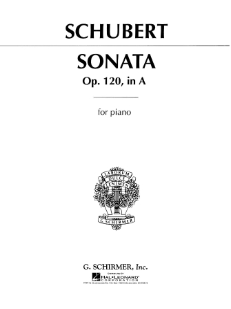Product Cover for Sonata, Op. 120 in A Major