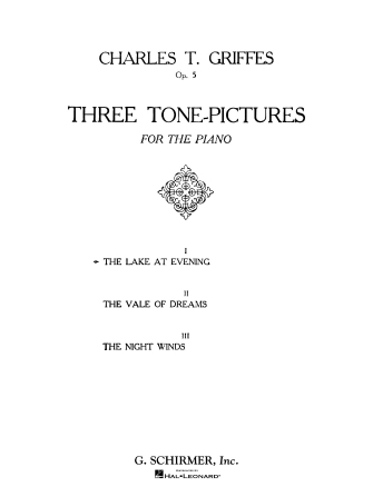 Product Cover for Lake at Evening, Op. 5, No. 1