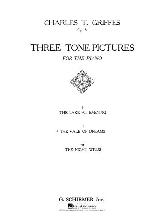 Product Cover for Vale of Dreams, Op. 5, No. 2