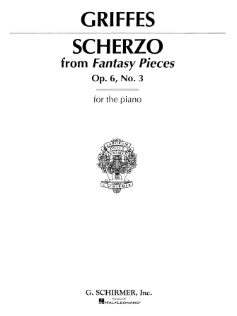 Product Cover for Scherzo, Op. 6, No. 3