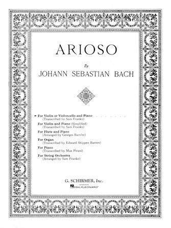 Product Cover for Arioso