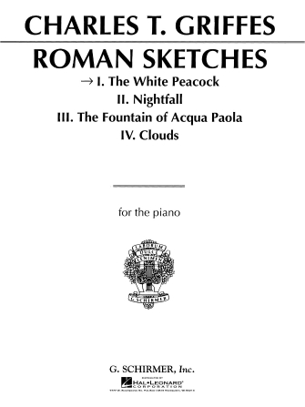 Product Cover for White Peacock, Op. 7 (From Roman Sketches)