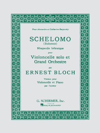 Product Cover for Schelomo