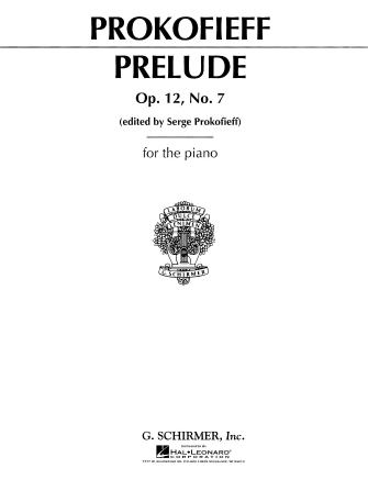 Product Cover for Prelude in C, Op. 12, No. 7