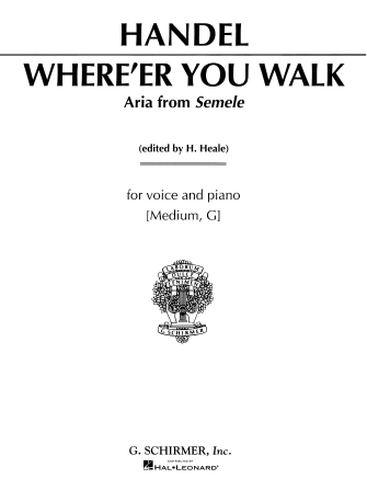 Product Cover for Where E'er You Walk (from Semele)