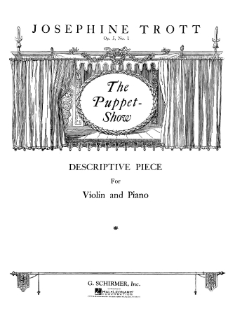 Product Cover for Puppet Show, Op. 5, No. 1