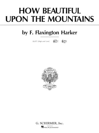 Product Cover for How Beautiful Upon the Mountains