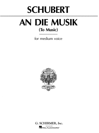 Product Cover for An die Musik