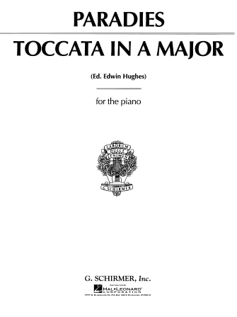 Product Cover for Toccata in A Major