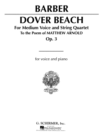 Product Cover for Dover Beach