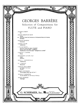 Product Cover for Bourrée from the Orchestral Suite in B Minor