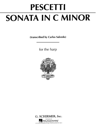 Product Cover for Sonata In C Minor For The Harp
