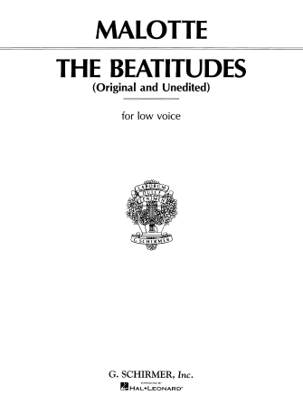 Product Cover for Beatitudes