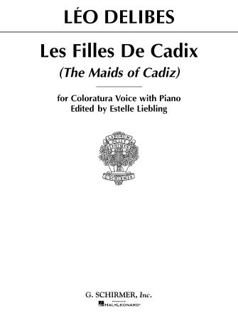 Product Cover for Les filles de Cadix (The Maids of Cadiz)
